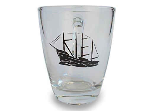 Kielschiff Teeglas Glas