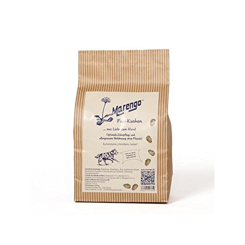 Marengo Hunde TrockenfutterSnack Fun - Kuchen, 1er Pack (1 x 2.5 kg)