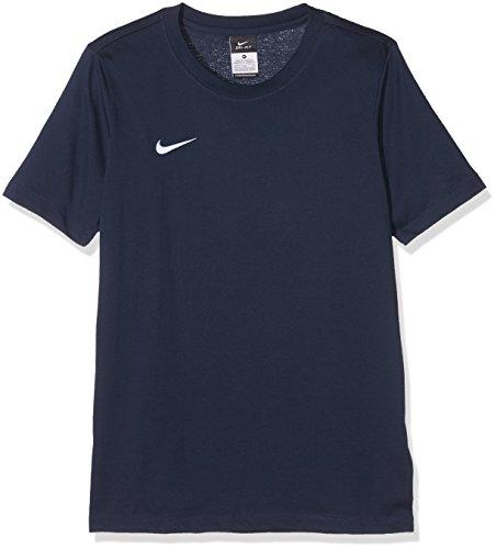 NIKE YTH Team Club Blend tee Camiseta, Unisex niños, Azul (Obsidian/Obsidian/White), XS
