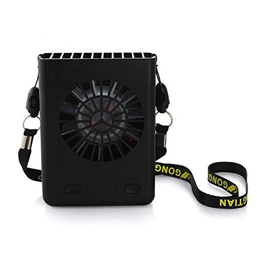 Draagbare USB-ventilator Handsfree nek Ophangen USB Opladen Mini draagbare draagbare sportventilator Airconditioner met 3 snelheden