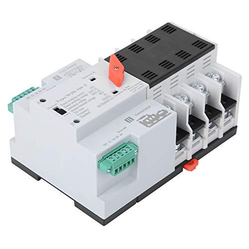 W2R-63A Interruptor de transferencia automática de doble potencia 4P63A