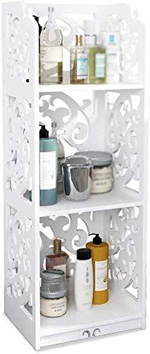 ZFFSC Staande kasten, badkamer, wasmachine, opslagrek, hotels, opbergkast, slaapkamer, opbergkast (kleur: wit, maat: 40 x 22 x  80cm) 30 * 22 * 80cm wit