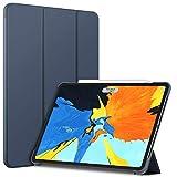 JETech Hülle Kompatibel iPad Pro 11 Zoll, Alle Modelle, Intelligent Abdeckung Schlafen/Wachen, Navy Blau