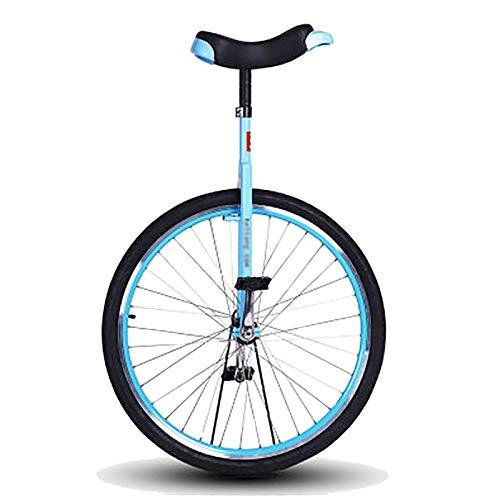 aedouqhr Monociclo Monociclo con Ruedas de 28 Pulgadas para Adultos, Bicicleta Grande con Equilibrio de una Rueda para Principiantes/Adolescentes súper Altos/niños Grandes, uniciclo Resistente al