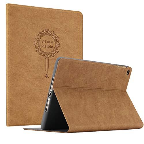 miniko (TM) Vintage marrón tipo libro funda de piel con tapa para iPad Pro 9.7Air 2iPad 234mini 234