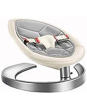 WXX Silla Mecedora para bebés, Silla cómoda para niños Silla reclinable para bebés Lazy Swing Cuna Silla de enfermería Lounge Chai,D