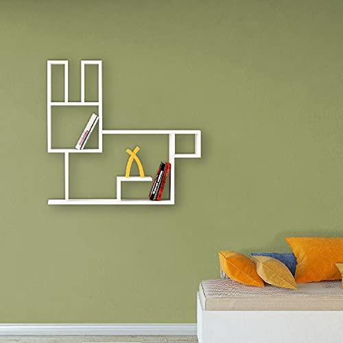 Best Seller Living Mensola A Muro Coniglio Bianco