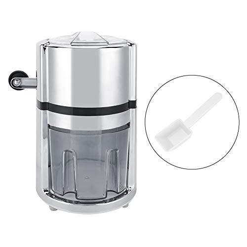 Edelstahl-Eiscrusher Handkurbel manueller Eiscrusher rasierte runde Form Eismaschine für Hauptwerbung MEHRWEG VERPAKUNG