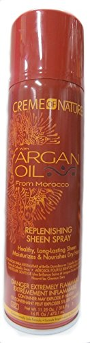 Creme of Nature with Huile d'Argan du Maroc Repl enishing Sheen Spray 473,1 ml