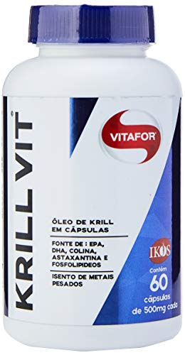 Krill Vit Óleo de Krill 60 Cápsulas 500mg, Vitafor