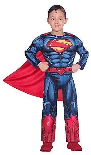 Amscan 9906070 Superman - Costume classico per...