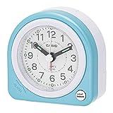 カシオ クオーツ式小型置き時計 TQ-145-2JF ブルー 1個