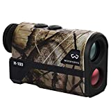 WOSPORTS 1200 Yards Hunting Rangefinder Laser Rangefinder Archery Bow Hunting Ranging with Flagpole Lock Ranging Scan Speed