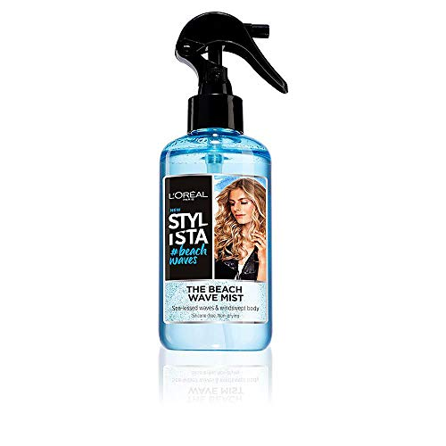 L'Oréal Paris Stylista Beach Waves Spray Texturizzante per Capelli Mossi, Capelli Morbidi al Tatto, Formula senza Silicone per un Tocco Naturale, 200 ml