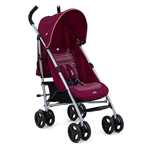 Joie Nitro Kinderwagen mit abgeschrägten Linien, Pink