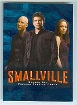 Clark Kent Lana Lang Lex Luthor trading card Smallville Superman #1 Kristin Kreuk Michael Rosenbaum Tom Welling