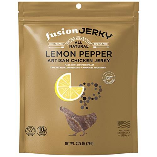 fusion jerky(フュージョン・ジャーキー)チキンジャーキーレモンペッパー