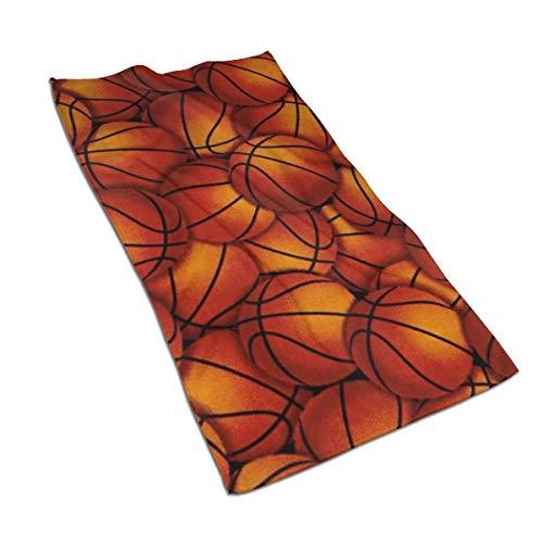 Toalla de baño de microfibra de secado rápido Muchos baloncesto Poliéster Microfibra Altamente absorbente Toalla de mano suave y cómoda Toallas faciales Toallas deportivas para baño al aire libre Ho