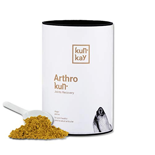 KUNKAY Arthrokun Perros - 260 g | Suplemento para la salud articular (condroprotector y antiinflamatorio)