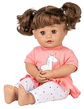 """Adora My Cuddle & Coo Baby """"Unicorn Magic"""" - Touch Activated Doll with 5 Sounds  She Cries Coos Giggles Kisses Back & Says Momma ,15 inches"""