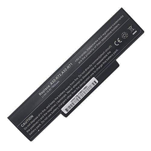 BTMKS 9 Zellen 7800mah A32 K72 A32 N71 A32K72 A32N71 Notebook Laptop Akku fur ASUS K72 K72F K72J K72D K72DR K72DY K72JR K73 K73S K73SV K73E X73S A72 A73 Pro7A Pro7B Pro7C Pro78 X7A X7B X77 Batterie