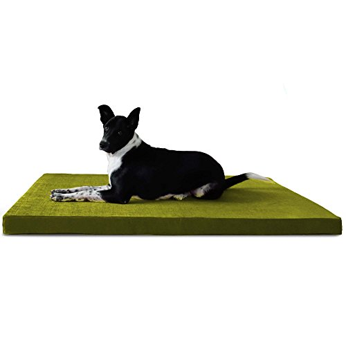 PRAZUCHI Orthopedic Waterproof Dog Bed (M/L/XL/XXL) Sizes for All Breeds - Luxury - 18 Colors