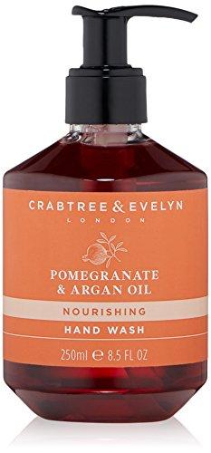 Crabtree & Evelyn Pomegranate & Argan Oil Hand Wash, 8.5 Fl Oz