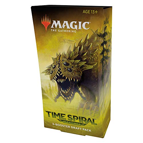 Magic The Gathering Time Spiral Remastered 3-Booster Draft Pack | 45 Magic Cards