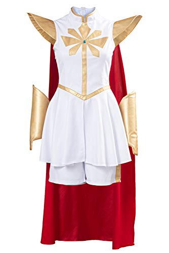 Bilicos Princesses and The Princesses of Power She Ra Kleid Outfits Halloween Karneval Cosplay Kostüm Herren XXXL