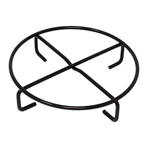 ToCis Big BBQ Dutch Oven Untersetzer für Feuertopf, Potjie, Guss-Töpfe, Pfannen | Ø 20 cm Untersetzer aus Metall | Camping Grill Outdoor Küchen Zubehör