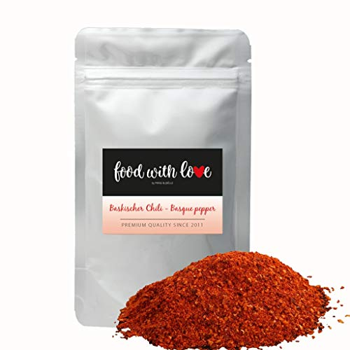 Food with Love BIO Baskischer Chili aus Frankreich 50g