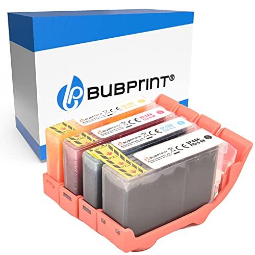 Bubprint Kompatibel Druckerpatronen als Ersatz für Canon PGI-5BK CLI-8 für Pixma IP3300 IP3500 IP4200 IP4300 IP4500 IP5200 IX4000 MP510 MP600 MP610 MP970 MX700 4er-Pack