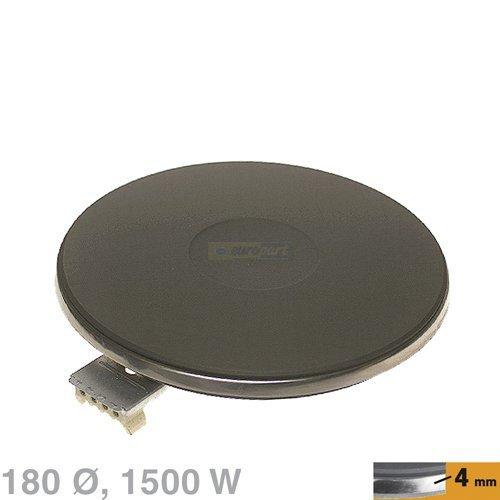 EGO - Kochplatte - 4 mm - 180 mm - 1500 W - 13.18453.040 / 1318453040 - Ersatzteil für Ihren Herd / Kochfeld