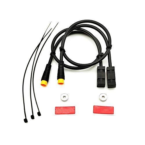 Kaxofang Sensor de Freno HidráUlico de Bicicleta EléCtrica para BAFANG BBS01 BBS02 BBSHD Kit de ConversióN de Motor de Accionamiento Medio