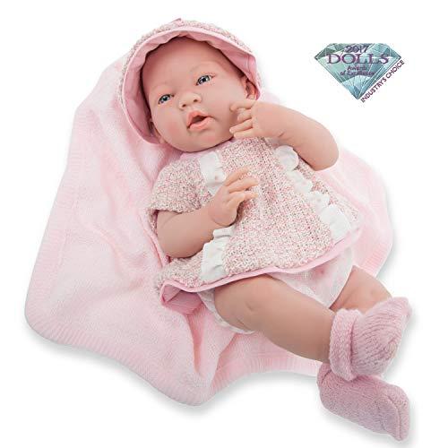 JC TOYS - La Newborn Bambola Bambola Bambola, Colore Rosa (18058)