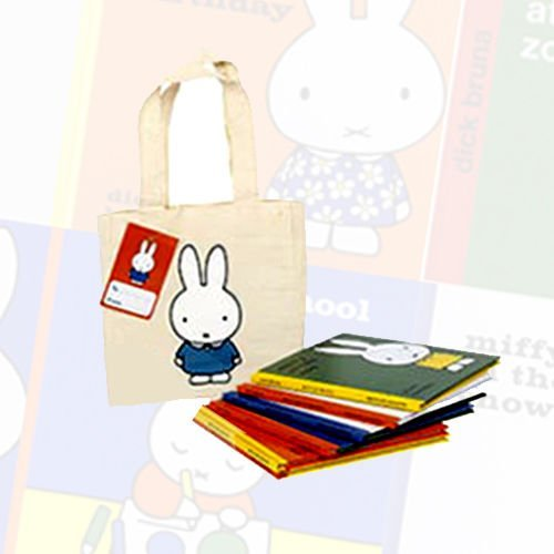 Dick Bruna New Miffy Collection 6 Books Bundle With Bag (Miffy, Miffy's Birthday, Miffy and the New Baby, Miffy at School, Miffy at the Zoo, Miffy in the Snow)