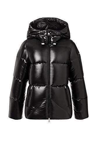 KJUS Women Trovat Jacket Shiny Schwarz, Damen Daunen Freizeitjacke, Größe 36 - Farbe Black