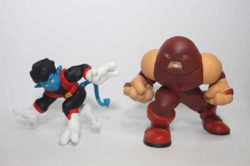 Marvel Super Hero Squad Nightcrawler & Juggernaut