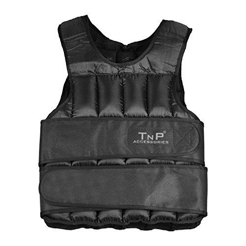 TNP Accessories® Weight Vest - 5kg 10kg 15kg 20kg 25kg 30kg Adjustable Weight.