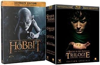 BLU-Ray+DVD El Hobbit + El Señor de los Anillos: Amazon.es ...