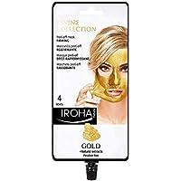 Iroha Nature -Mascarilla Facial Reafirmante Peel Off con Oro 24k, 4 usos (1 x 25 g) | Mascarilla Peel-Off ORO 24K Reafirmante