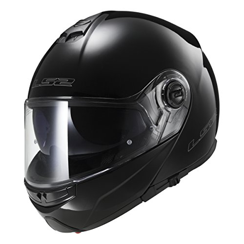 LS2 Helmets Modular Strobe Helmet (Zone Hi-Vis - X-Large)