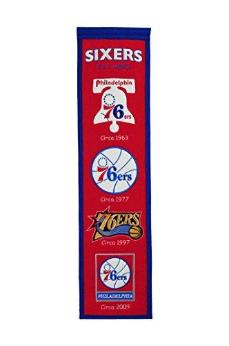 NBA Philadelphia 76ers Heritage Banner