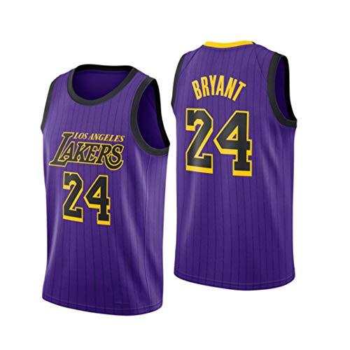 Camiseta De Baloncesto Para Hombre, Camiseta De Kobe Bryant De Lakers # 24, Camisetas De Verano De Baloncesto Retro Camiseta De Ventilador Chaleco Sin Mangas Ropa Deportiva Uniformes Deportivos
