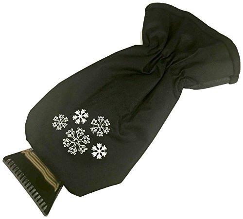 Glart 44EH Raspador Profesional de Hielo con Guante cálido, Negro