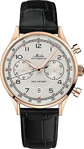 Mido Reloj cronógrafo automático Multifort Patrimony M040.427.36.262.00