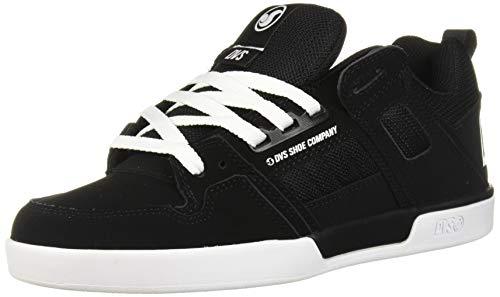 DVS Chaussures pour homme Comanche 2.0+, noir (Nubuck noir et blanc.), 42 EU