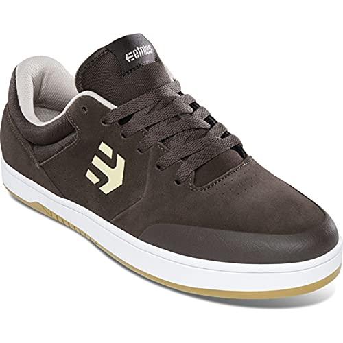 Etnies Men's Marana Low Top Sneaker Shoes Brown/White 11.5