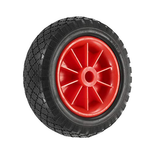 GYFHMY 2 Ruedas de neumático a Prueba de pinchazos para Kayak, Canoa, Carrito de Repuesto – EVA y Material de Nailon, Carga máxima de hasta 220 Libras – Rueda Universal para Kayaks canoas
