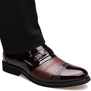 [inotenka]シークレットシューズ ビジネスシューズ メンズ 革靴 レザーシューズ 紳士靴 通勤 6cmアップ 008-9601